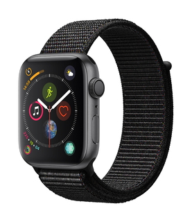 Apple Watch Series 4 44mm Space Grey/Zwart (S/L)