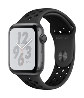 Apple Watch Nike+ Series 4 44mm Space Grey/Zwart (S/L)