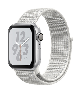 Watch Nike+ Series 4 40mm Zilver/Wit (S/L)