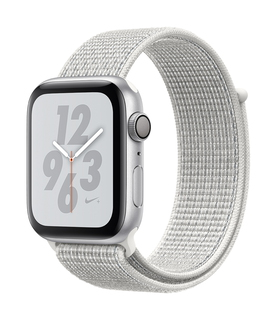 Apple Watch Nike + Series 4 44mm Zilver/Wit (S/L)