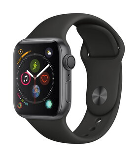 Apple Watch Series 4 40mm Space Grey/Zwart (S/L)