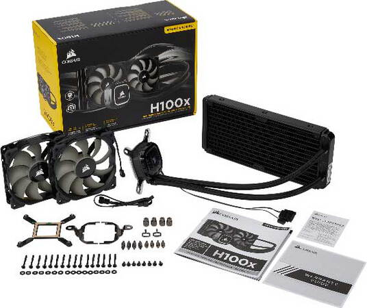 Corsair Hydro Series™ H100x - CW-9060040-WW
