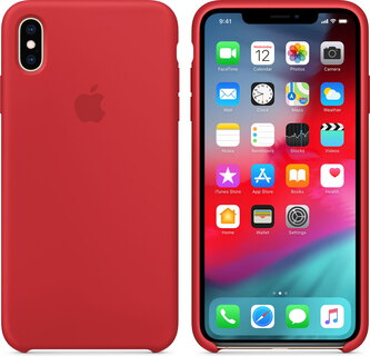 Apple Siliconenhoesje voor iPhone Xs Max - (product) RED™ - MRWH2ZM/A