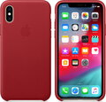 Apple Coque en cuir pour iPhone Xs - (product) RED™ - MRWK2ZM/A