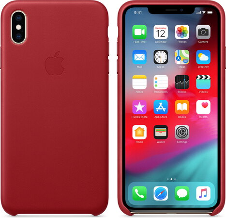 iphone xs coque red