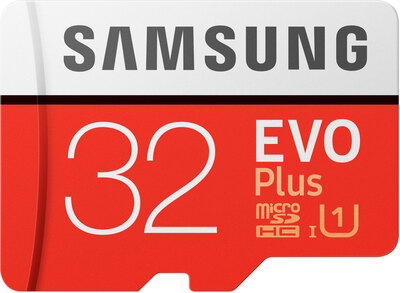 Samsung 32 Go EVO Plus micro SDHC + adapter - MB-MC32GA/EU
