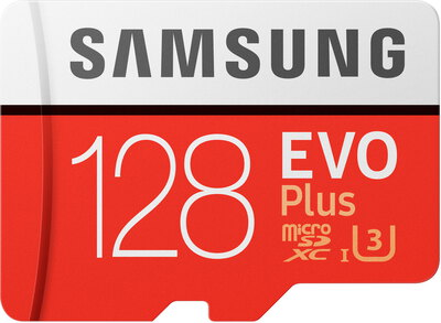 Samsung 128 GB EVO Plus micro SDXC + adapter - MB-MC128GA/EU