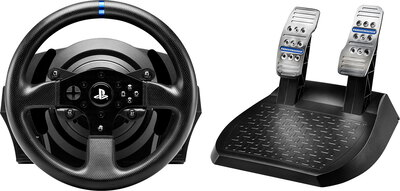 Thrustmaster T300RS Racing Wheel + Pedalen - Zwart