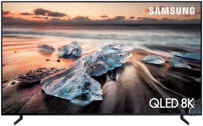 "Samsung TV QE85Q900R (2018) - 85"" 8K Ultra HD Smart QLED TV"