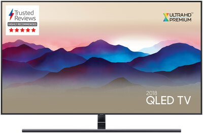 "Samsung TV QE75Q9FN (2018) - 75"" QLED Smart Ambient Mode 4K UHD TV"