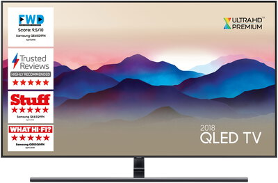 Samsung TV QE65Q9FN (2018) - 65 inch QLED Smart Ambient Mode 4K UHD TV