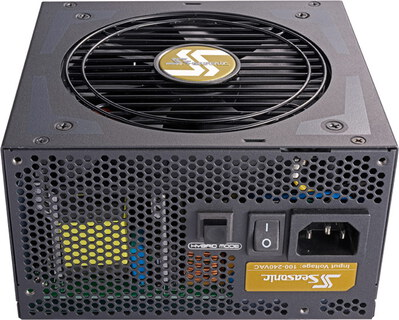 Seasonic FOCUS Plus 550 Gold PCHG - SSR-550FX PCGH