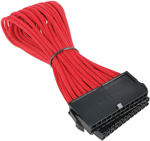 Bitfenix Alchemy ATX 24-pin extension cable Red - BFA-MSC-24ATX45RK-RP
