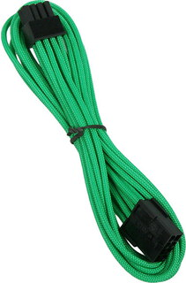 Bitfenix Alchemy 8-pin video card extension cable Green - BFA-MSC-8PEG45GK-RP