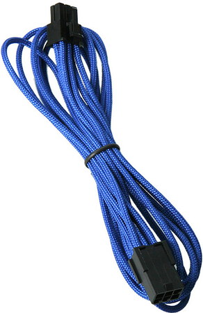 Bitfenix Alchemy 6-pin video card extension cable Blue - BFA-MSC-6PEG45BK-RP