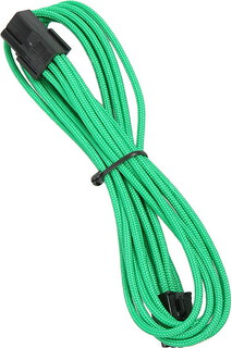 Bitfenix Alchemy 6-pin video card extension cable Green - BFA-MSC-6PEG45GK-RP