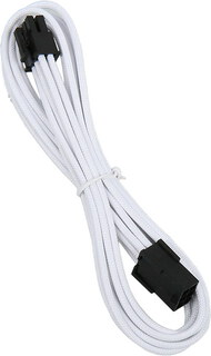 Bitfenix Alchemy 6-pin video card extension cable White - BFA-MSC-6PEG45WK-RP