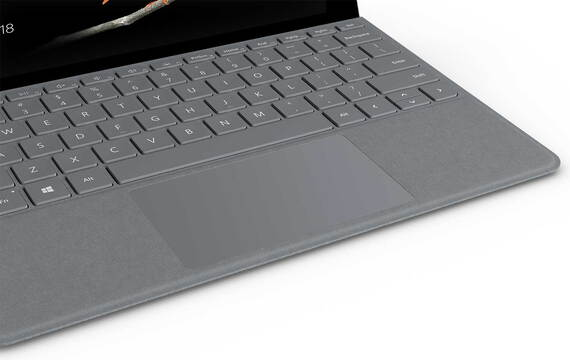 Microsoft Surface Go Type Cover Platina