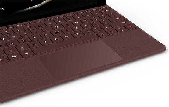 Microsoft Surface Go Type Cover Bordeaux