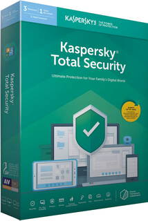 Kaspersky Total security 2019 - 3 appareils - 1 an - KL1949B5CFS-9SLIM