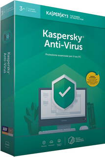Kaspersky Anti-virus 2019 - 3 PC's - 1 jaar - KL1171B5CFS-9SLIM