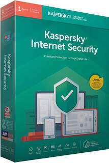 Kaspersky Internet security 2019 - 1 appareil - 1 an - KL1939B5AFS-9SLIM