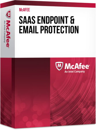 McAffee SAAS endpoint and email protection - BXMEP1YRDTH