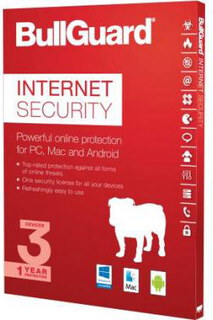 Bullguard Internet Security + Firewall - 1 PC - 1 an
