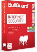 Bullguard Internet Security + Firewall - 3 PC's - 1 jaar