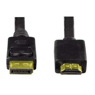 Hama 1.8m Displayport Male To HDMI Male 54594