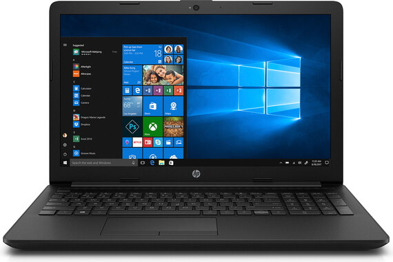 HP Notebook 15-DA0982NB Gitzwart