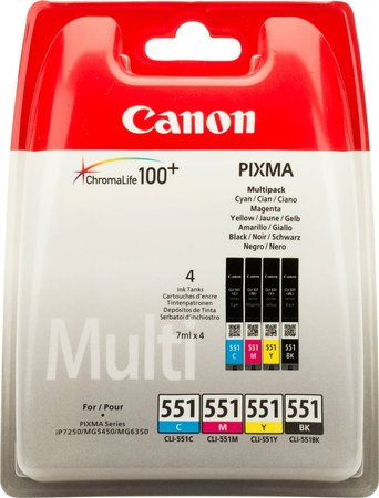 Canon Multipack CLI-551 CMYK - 6509B008