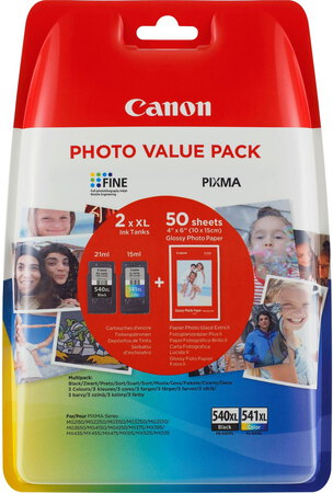 Canon Photo value pack PG-540XL / CL-541XL