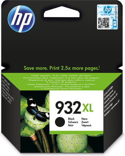 HP 932XL originele high-capacity zwarte inktcartridge - CN053AE