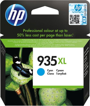 HP 935XL originele high-capacity cyaan inktcartridge - C2P24AE