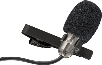Trust Lava USB clip-on microphone - Noir