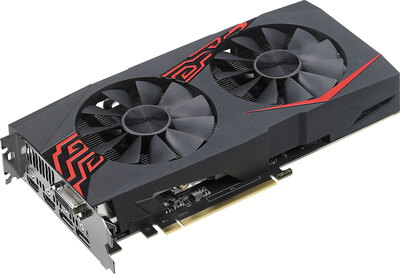 Asus Expedition GeForce GTX 1060 OC - 6 Go GDDR5 - 90YV0A28-M0NA00