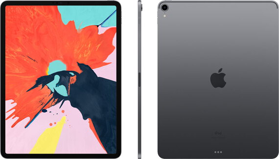 "Apple iPad Pro (2018) 12,9"" Wi-Fi 512 GB Spacegrijs"