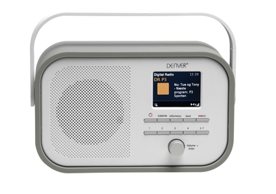 Denver Denver Electronics DAB-40GREY Radio portable Numérique Gris