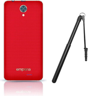 EMP Backcover + stylet pour Smart.2 - Rouge