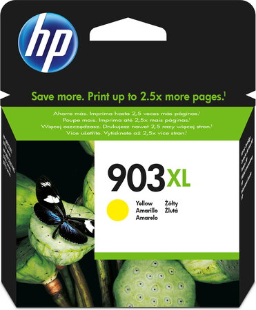HP HP 903XL originele high-capacity gele inktcartridge