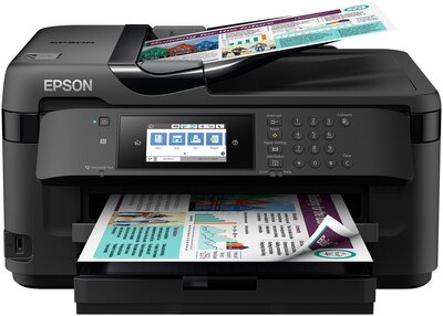 Epson WorkForce WF-7715DWF Zwart