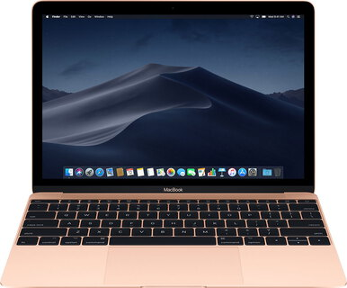 "Apple MacBook 12"" (2018) 256 GB Goud - MRQN2FN/A"