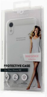 White Diamonds Backcover Innocence Clear pour iPhone Xr - Blanc
