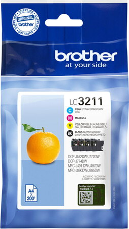 Brother Valuepack LC3211VAL CMYK