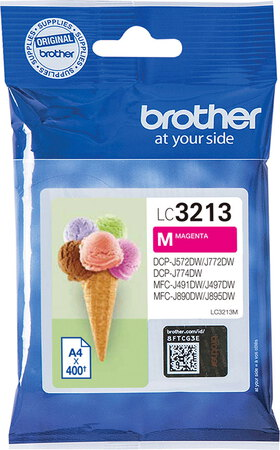 Brother Cartouche d'encre LC3213M Magenta
