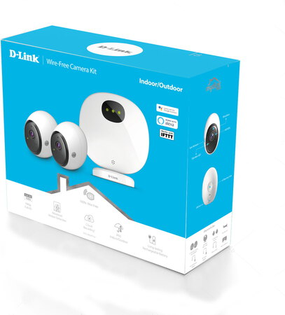 D-Link Pro Wire-Free Camera Kit- DCS-2802KT