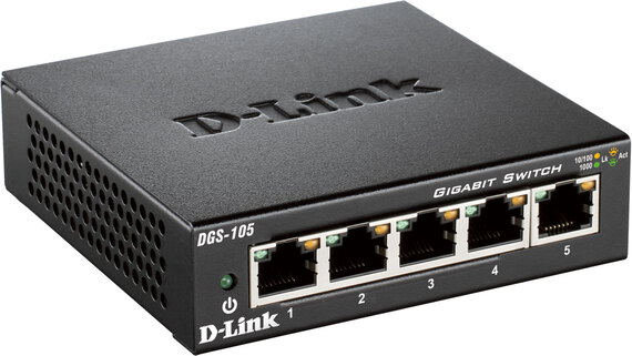 D-Link Switch Gigabit Ethernet 5 ports - DGS-105