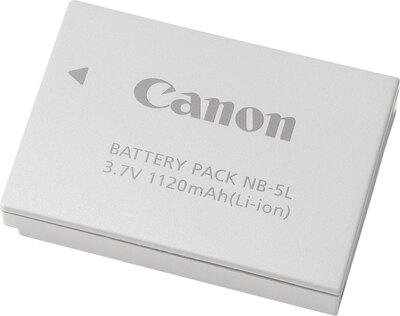 Canon Batterie de rechangement NB-5L - 1.120 mAh