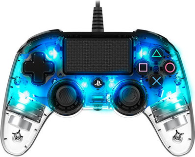 BigBen Illuminated gaming controller voor PS4™ - Blauw